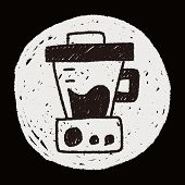 pic of juicer  - Juicer Doodle Drawing - JPG
