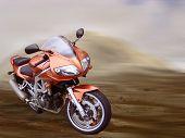 Desert Motorbike