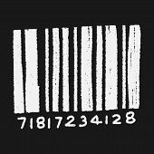 image of barcode  - Doodle Barcode - JPG