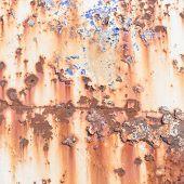 foto of oxidation  - Inside the rust - JPG
