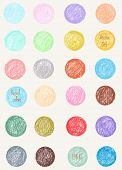 picture of pastel  - Vector pattern in pastel colors - JPG