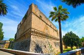 foto of swabian  - Perspective of the Swabian Castle of Bari - JPG