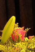 Flower bouquet detail