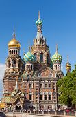 St.Petersburg Russia.Spas-na-krovi cathedral (The cathedral