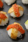 Nigirisushi: Rice Sushi With Fish Topping