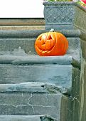Jackolantern  on steps