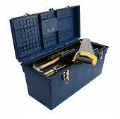 Caixa de ferramentas azul