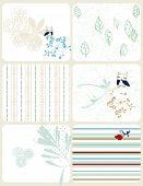 vector Retro Floral (Graphic Set)