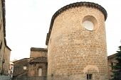 Jaca romanesque cathedral church Pyrenees spain Huesca Aragon
