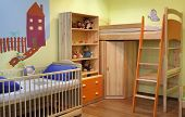New Colourful Room For Small Boy