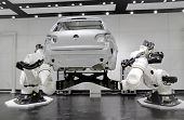 Futuristic Robotic Automation