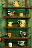 Rustic Ceramics Display