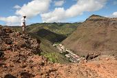 Walking the hills of St Helena