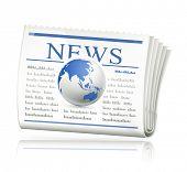 World news, bitmap copy
