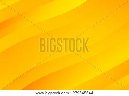 poster of Abstract Yellow Background With Waves. Abstract Yellow Background With Waves.