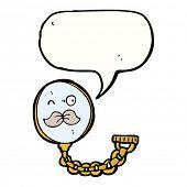 eyeglass monocle cartoon character