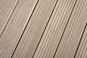 Floor Of Grey Boards In Reykjavik, Iceland. Wood Floor Texture Outdoor. Timber Surface On Wooden Bac poster