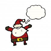little santa claus cartoon