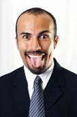 Goofy Businessman