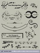 Decorative Vector Set