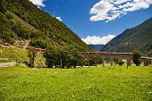 World Famous Swiss Train