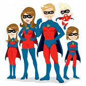 Superhero Family Costume