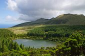 Seca lake, Pico island, Azores