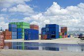 Frachtcontainern