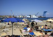 costa concordia disaster curious tourist