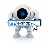 Robot And E-shop