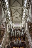 Rouen - Organ Of Saint-maclou Church