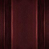 Fundo de couro vermelho