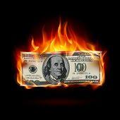Dólar ardiente