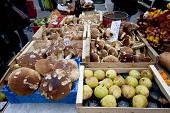 Fruit Market at Grenoble France.
