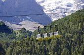 Teleferic of Monetier Les Bains