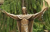 Bronze Statue of Jesus Christ