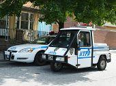 NYPD vehicles in Brooklyn, NY