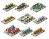 Isometric trains and cars