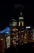 Central Plaza By Night, Hong Kong