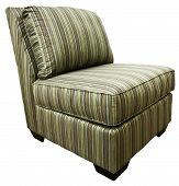 Armless Contemporary Accent Chair