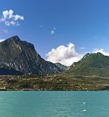 Lake Garda - Toscolano-maderno And His Mountains