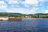 The Small Town Of Tadoussac, Canada