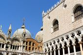 Palazzo Ducale And Basilica Of Saint Mark, Venice
