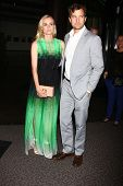 LOS ANGELES - 8 de JUL: Diane Kruger, Joshua Jackson chega no