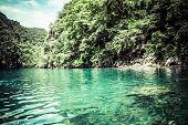 Tropical Seashore. Coron, Busuanga Island, Palawan Province, Philippines.