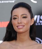 LOS ANGELES - JUN 22:  Christian Serratos arrives to the 'The Lone Ranger' Hollywood Premiere  on Ju