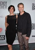 LOS ANGELES - AUG 16:  ADAM PASCAL & wife CYBELE arrives to the