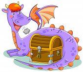 dragon and treasure