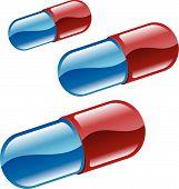 Pílulas ou comprimidos ilustração