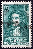 Postage Stamp France 1938 Jean De La Fontaine, Fabulist And Poet